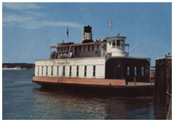 Photo of the LaFitte Ferry